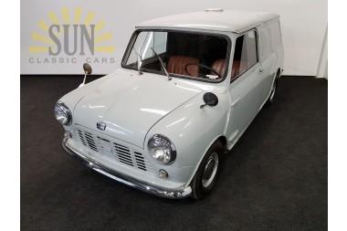 Austin Mini Van LHD 1961 WWW.ERCLASSICS.COM